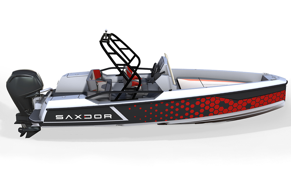 Saxdor Yachts -  Optional 200 Pro Sport – Optional Equipment - Pro Sport design package in red
