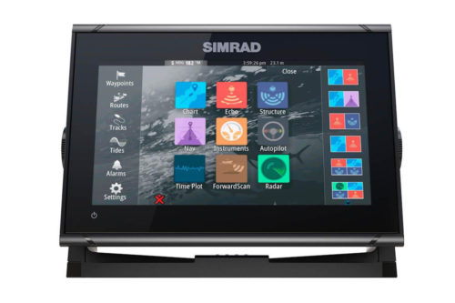 Saxdor Yachts - Simrad GO9 XSE (incl. Mercury Vessel View Link)