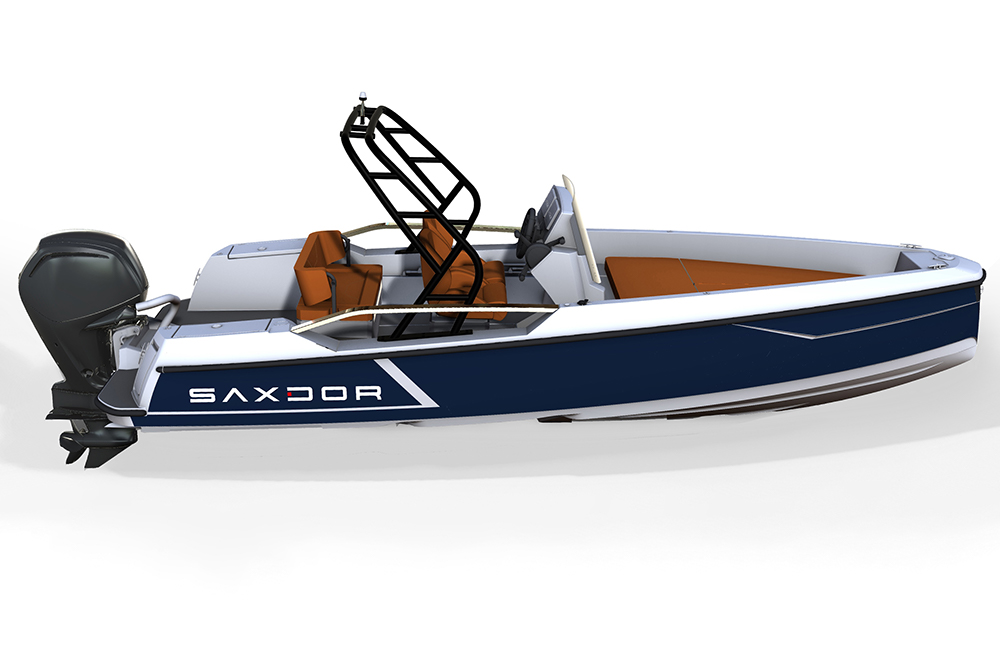 Saxdor Yachts -  Saxdor 200 Sport – Optional equipment - Targa arch