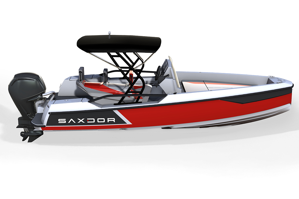 Saxdor Yachts -  Saxdor 200 Sport – Optional equipment - Targa arch with soft top