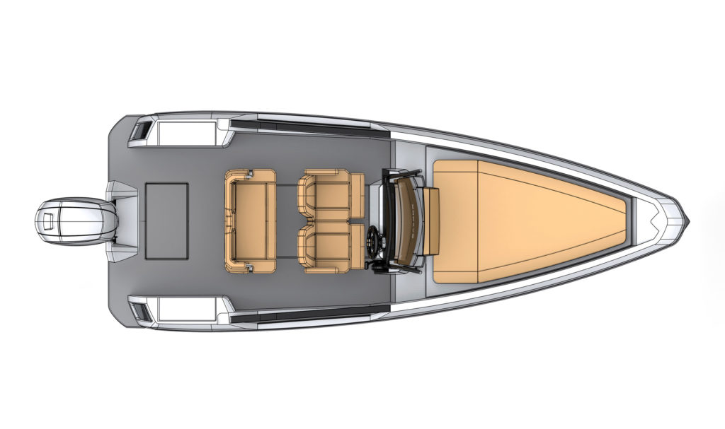 Saxdor Yachts 200 - Four Seater