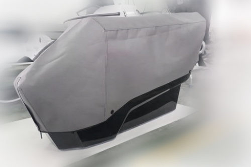 Saxdor Yachts - Harbour covers – seats and console – jockey seat