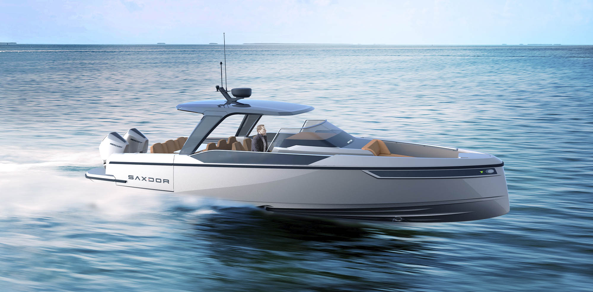 Saxdor Yachts -  Front page slide 2 – 320 GTO