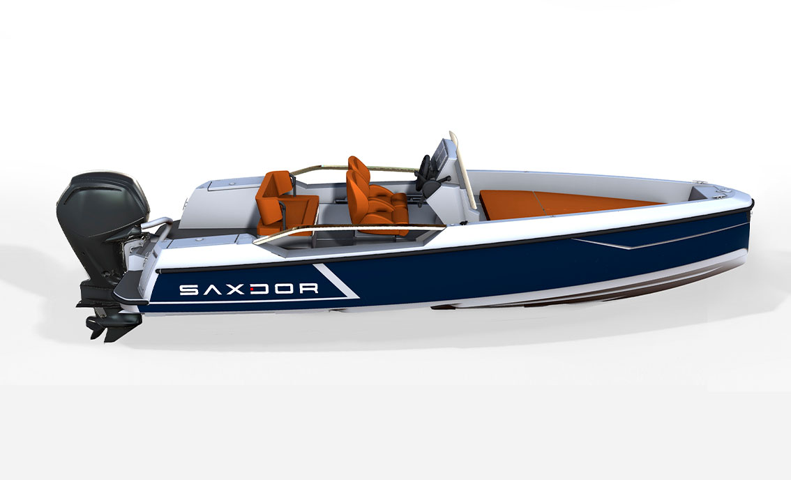 Saxdor Yachts -  200 sport – Open roof – 4 seats