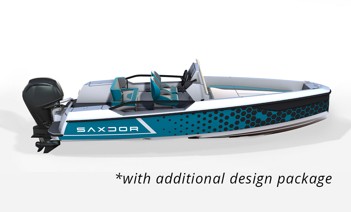 Saxdor Yachts -  200 pro sport – Open roof – 4 seats