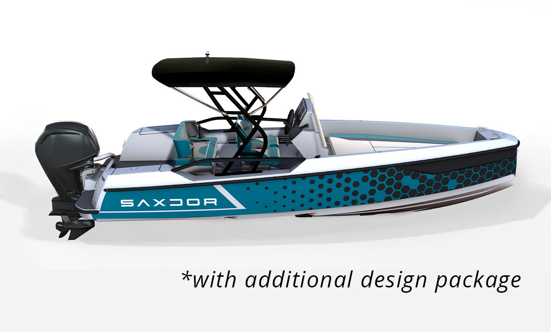 Saxdor Yachts -  200 pro sport – Soft top – 4 seats