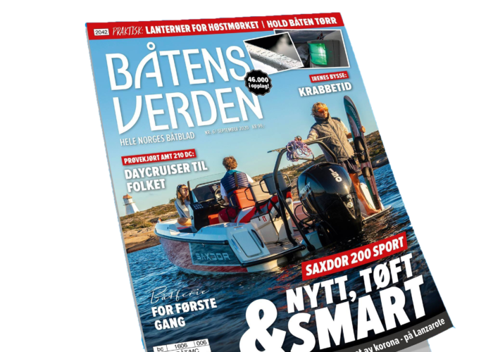 Båtens Verden Norway September 2020 - Saxdor Yachts