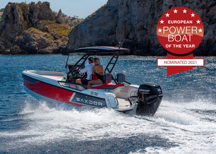 Saxdor 200 Sport is nominated for THE EUROPEAN POWERBOAT OF THE YEAR AWARD 2021 - Saxdor Yachts
