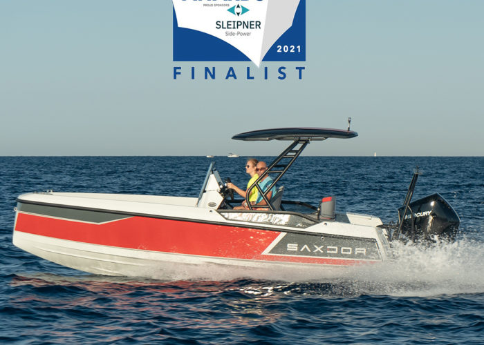 Saxdor 200 Sport nominated for the Motor Boat Awards 2021 - Saxdor Yachts