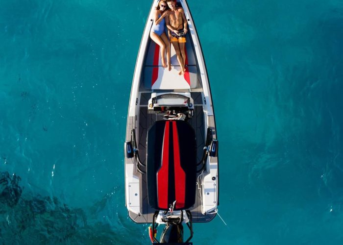 Barche a Motore: Saxdor is one of 5 new models up to 8 meters not to be missed - Saxdor Yachts