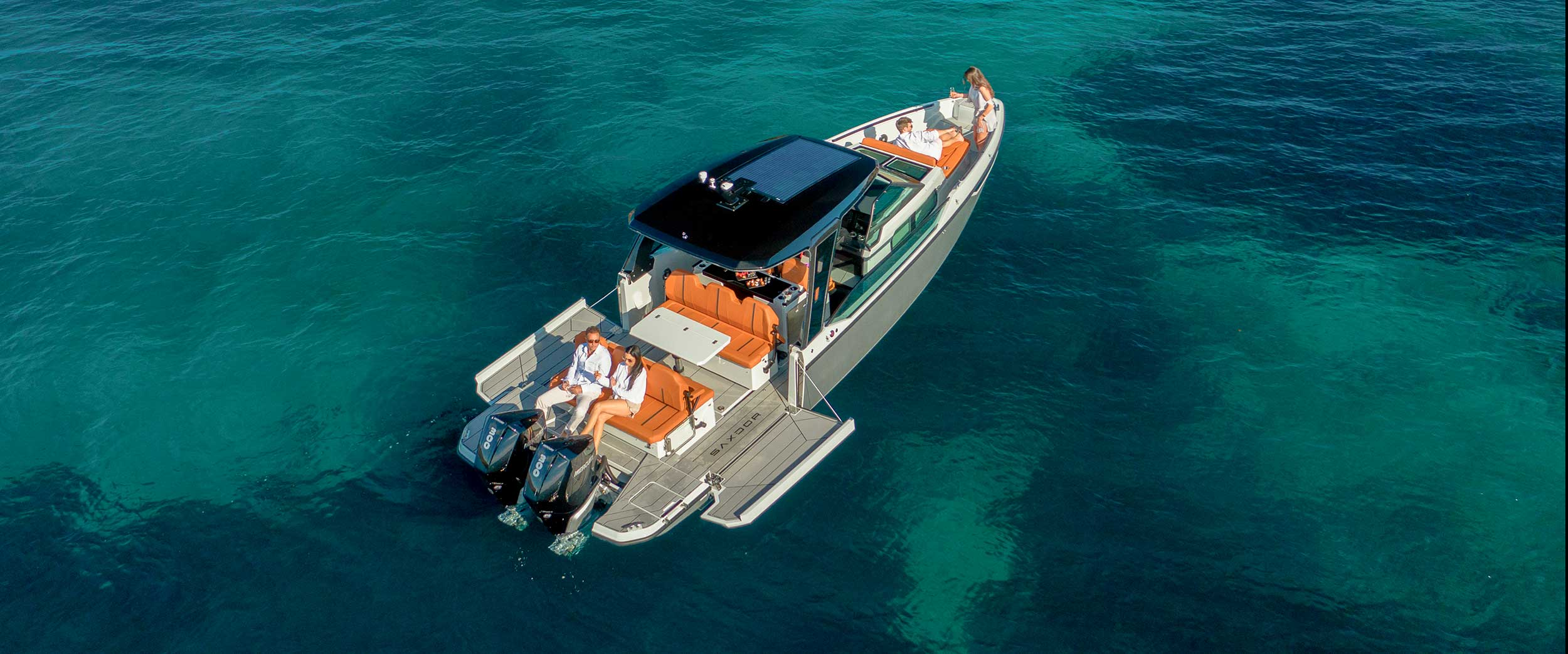 Saxdor Yachts -  Front page slide 2 – S320 pics