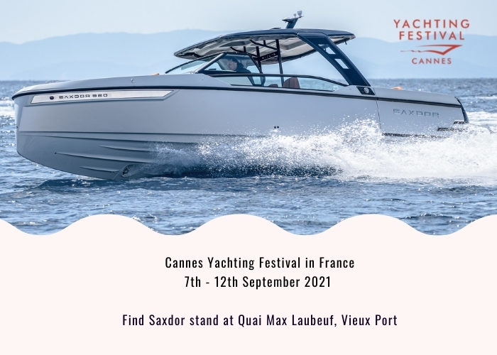 Cannes Yachting Festival | France - Saxdor Yachts