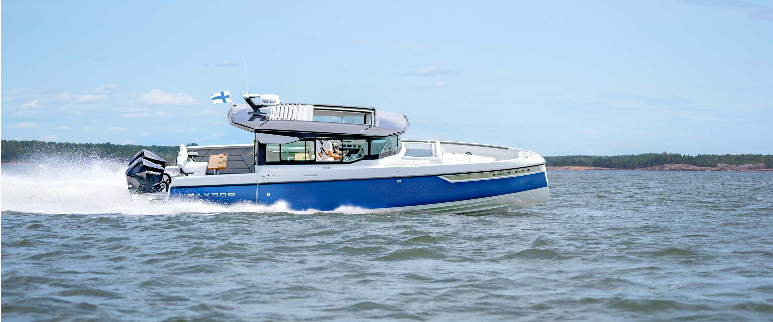 Saxdor Yachts -  Front page slide 0 – S320 pics