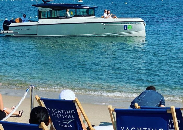 Success in Cannes - Saxdor Yachts